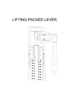 Lifting lever