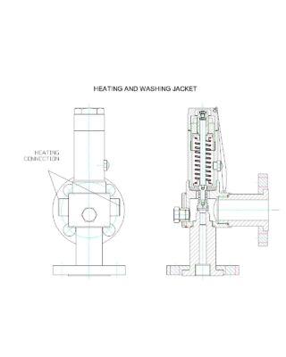 Heating and washing jacket